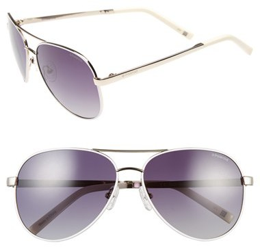 Polaroid Eyewear 59mm Polarized Aviator Sunglasses by Nordstrom