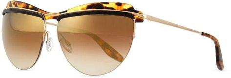 Barton Perreira Christian Roth The Affair Sunglasses, Tortoise by Barton Perreira