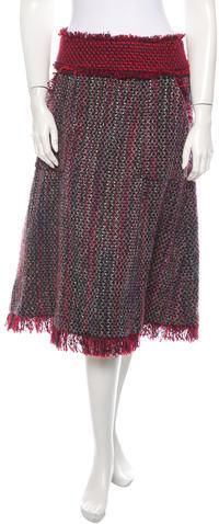 Tory Burch Tweed Skirt by Tory Burch