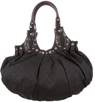 Gucci Pelham Studded Shoulder Bag by Gucci