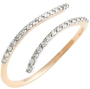 kismet by milka Diamond Coil Ring by Nordstrom