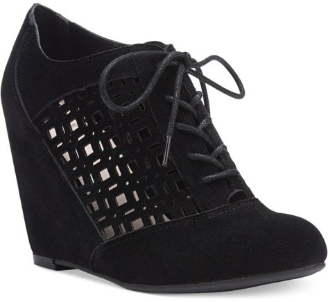 Fergalicious Tess Lace-Up Wedge Shooties by Fergalicious